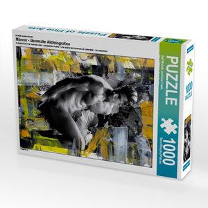 Ein Motiv aus dem Kalender Männer - übermalte Aktfotografien 100