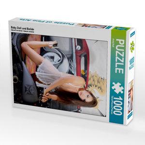Baby Doll und Bolide 1000 Teile Puzzle hoch