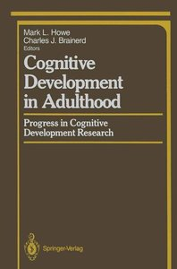 Cognitive Development in Adulthood