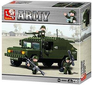 Sluban ARMY M38-B9900 - Gepanzertes Fahrzeug I, 191 Teile
