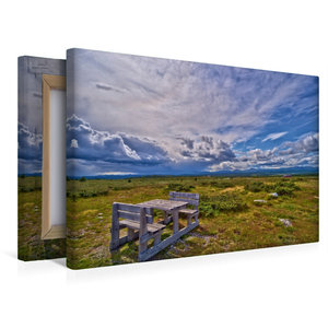Premium Textil-Leinwand 45 cm x 30 cm quer Peer Gynt Vegen