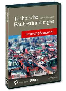 Technische Baubestimmungen - Historische Baunormen - DVD Mehrpla