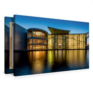 Premium Textil-Leinwand 75 cm x 50 cm quer Paul-Löbe-Haus
