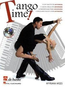Tango Time!, für Akkordeon, mit Audio-CD