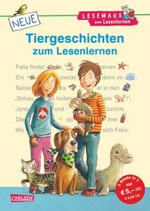 LESEMAUS zum Lesenlernen Sammelbände: Neue Tiergeschichten zum L