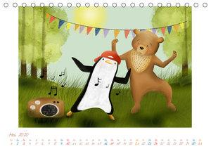 Mein Pinguin Kidskalender (Tischkalender 2020 DIN A5 quer)