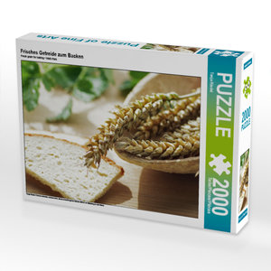 CALVENDO Puzzle Frisches Getreide zum Backen 2000 Teile Lege-Grö