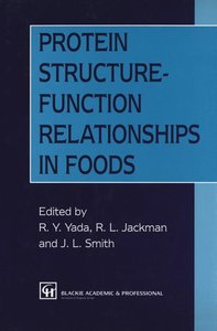 Protein Structure-Function Relationships in Foods