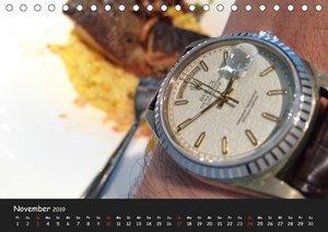 Watch Wristshots Worldwide (Tischkalender 2019 DIN A5 quer)
