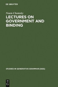 Lectures on Government and Binding