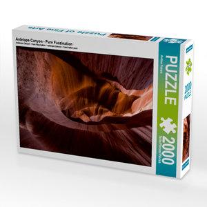 CALVENDO Puzzle Antelope Canyon - Pure Faszination 2000 Teile Le