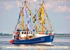 Maritime Augenblicke - Fischkutter (Wandkalender 2019 DIN A3 que