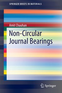 Non-Circular Journal Bearings