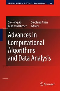 Advances in Computational Algorithms and Data Analysis