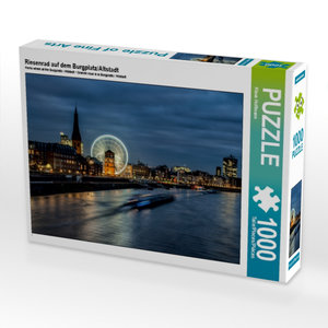 Riesenrad auf dem Burgplatz/Altstadt 1000 Teile Puzzle quer
