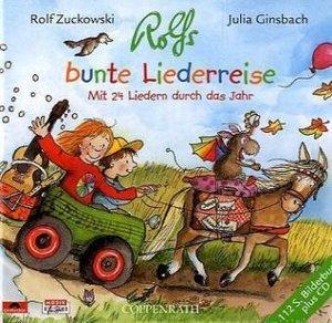 Rolfs bunte Liederreise, mit Audio-CD