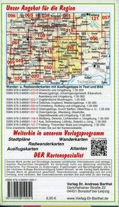 Obererzgebirge 1 : 35 000. Radwander- und Wanderkarte