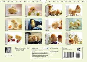 Tierisches aus der Küken-WeltAT-Version (Wandkalender 2019 DIN A