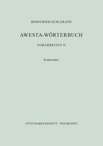 Awesta-Wörterbuch