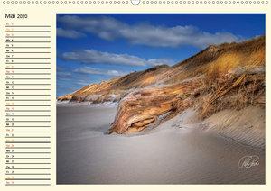 Dünen an der Nordsee - Geburtstagskalender
