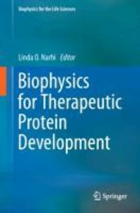 Biophysics for Therapeutic Protein Development