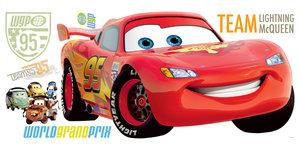 RoomMates DISNEY Cars 2 Lightning McQueen Wandtattoo