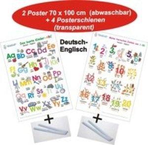 Das bunte Kinder-ABC + Meine tierischen Zahlen von 1-20 Deutsch/