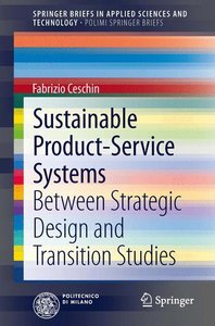 Sustainable Product-Service Systems