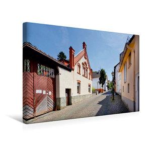 Premium Textil-Leinwand 45 cm x 30 cm quer Hornauer Straße