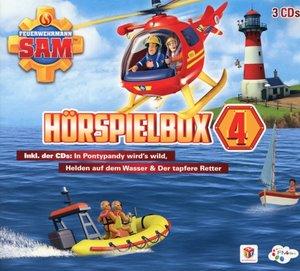 Feuerwehrmann Sam-Hörspiel Box 4