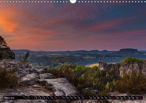 Bilder aus dem Nationalpark Sächsische Schweiz (Wandkalender 201