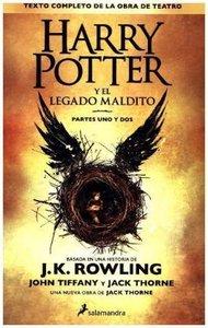 Harry Potter Y El Lagado Maldito. Partes Uno Y Dos