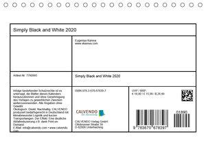 Simply Black and White/ Einfach Schwarz und Weiss - Kunst