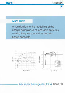A contribution to the modelling of the charge acceptance of lead