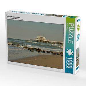 Teehaus Timmendorf 1000 Teile Puzzle quer