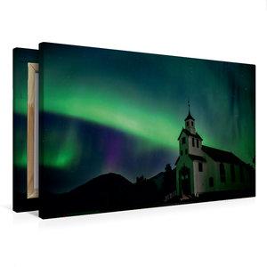 Premium Textil-Leinwand 75 cm x 50 cm quer Norwegen