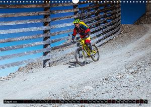 Downhill Action (Wandkalender 2020 DIN A3 quer)