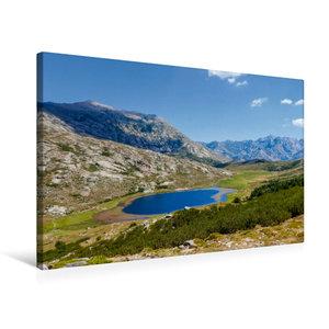 Premium Textil-Leinwand 75 cm x 50 cm quer Lac de Nino, 1743 m