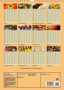 Küchenfreuden / Familienplaner (Wandkalender 2019 DIN A3 hoch)