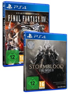 Final Fantasy XIV Double Pack (PlayStation PS4)