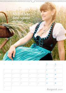 Impressionen aus Bayern mit bayrischen Sprüchen (Wandkalender 20
