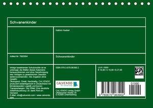 Schwanenkinder (Tischkalender 2019 DIN A5 quer)
