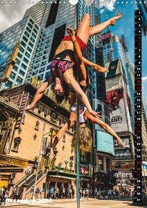 Poledance auf New Yorks Straßen