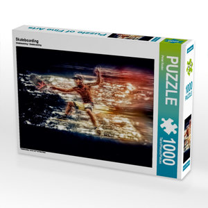 Skateboarding 1000 Teile Puzzle quer