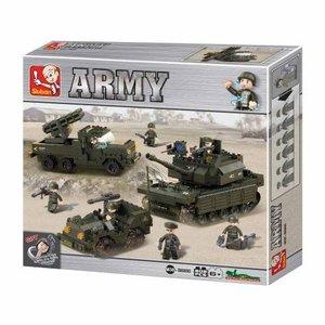 Sluban ARMY M38-B6800 - Landstreitkräfte Set 1, 602 Teile
