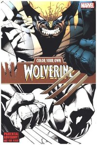 Color Your Own Wolverine