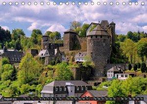 Burgen und Schlösser der Eifel (Tischkalender 2019 DIN A5 quer)