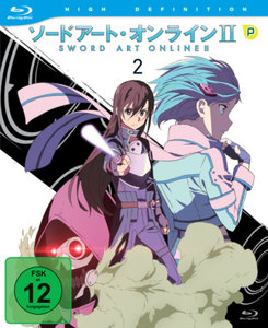 Sword Art Online - 2. Staffel - Box 2 (Blu-ray)