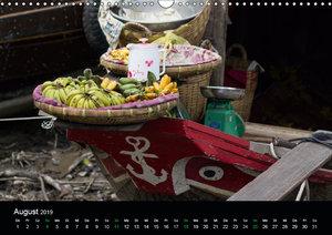 Märkte in Vietnam (Wandkalender 2019 DIN A3 quer)