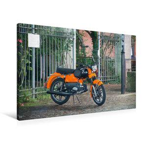 Premium Textil-Leinwand 90 cm x 60 cm quer Kreidler Florett GT B